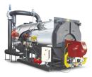 Generadores de agua caliente de tubos de humos
